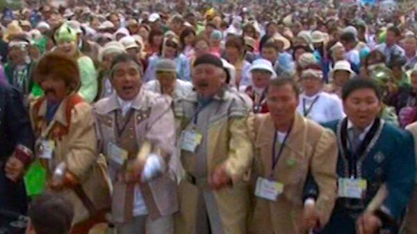 Over 15,000 Yakut Osuokhai Dancers Set Guiness World Record - Sputnik International
