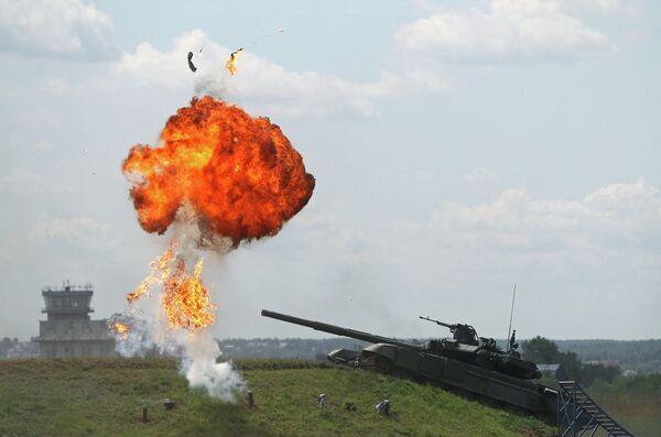 "Combat Equipment at ""Engineering Technologies 2012"" Forum - Sputnik International"