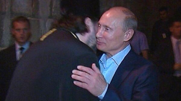 Putin Visits Shrines in Bethlehem, Jerusalem - Sputnik International