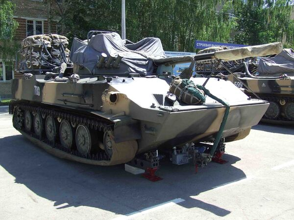 Russia to Commission BMD-4M Airborne Vehicles in 2013  - Sputnik International