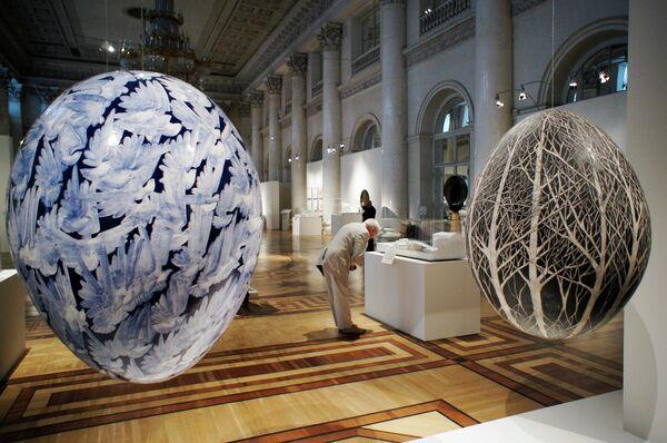 Santiago Calatrava Exhibition Opens at Hermitage - Sputnik International