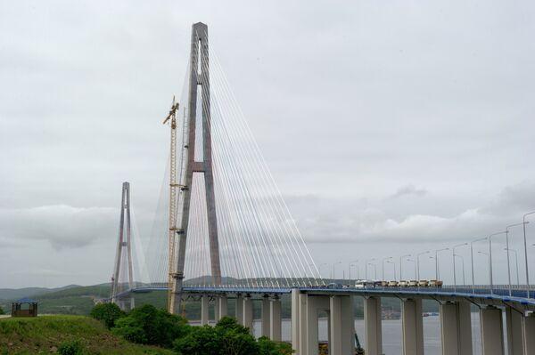 1,104-meter bridge in Vladivostok (archive) - Sputnik International