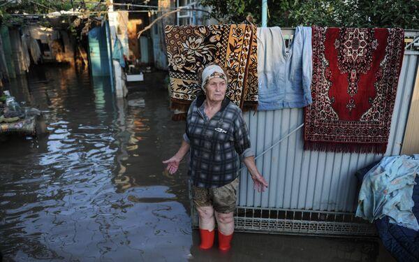 Floods in southern Russian city of Krymsk, July 17, 2013 - Sputnik International