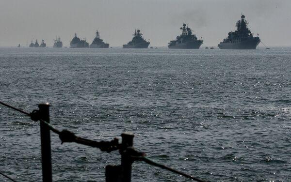 Russia's Pacific fleet ships - Sputnik International