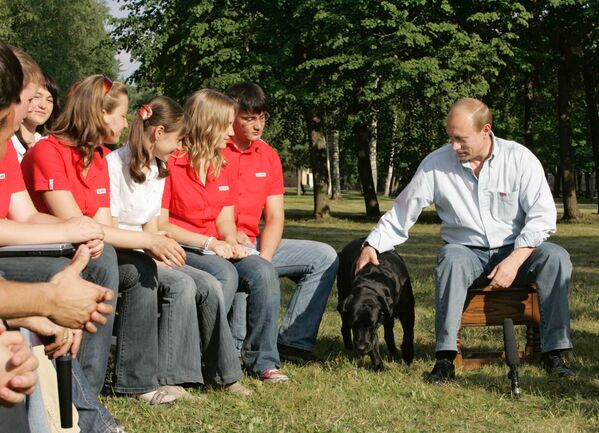 Vladimir Putin's Four-legged Gifts  - Sputnik International