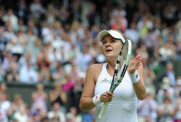 Agnieszka Radwanska, currently ranked #5 in the world by the Women's Tennis Association - Sputnik International