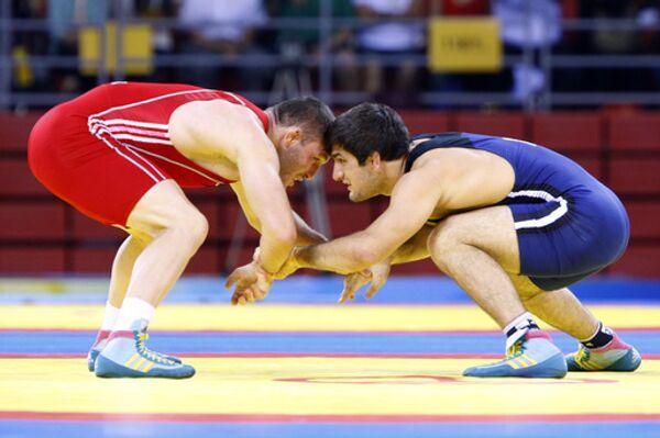Uzbek wrestler Soslan Tigiev - Sputnik International