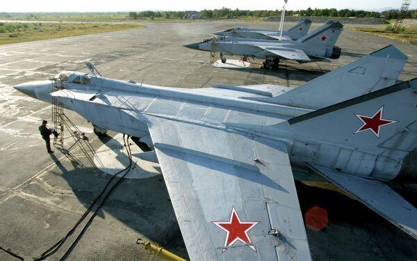 MiG-31 interceptors - Sputnik International