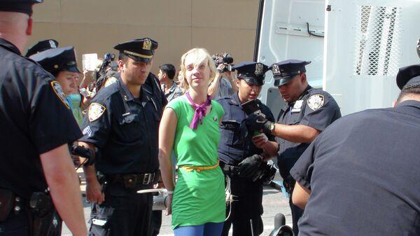 Pussy Riot Verdict Slammed at US Demo - Sputnik International