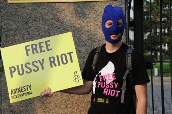 Kremlin Dismisses West's Pussy Riot Criticism - Sputnik International
