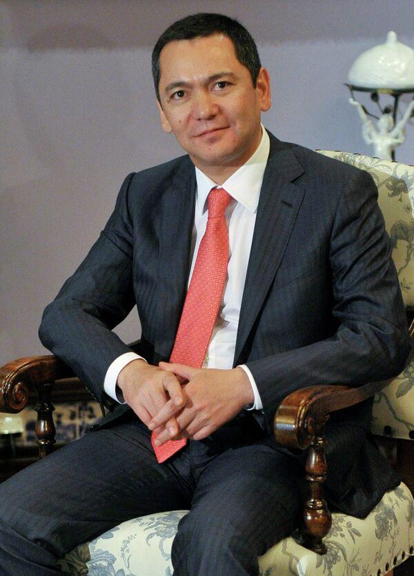 Prime Minister Omurbek Babanov - Sputnik International