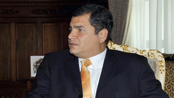 """""""Ecuador believes that the incident has been settled,"""" President Rafael Correa was quoted as saying by local media - Sputnik International"""