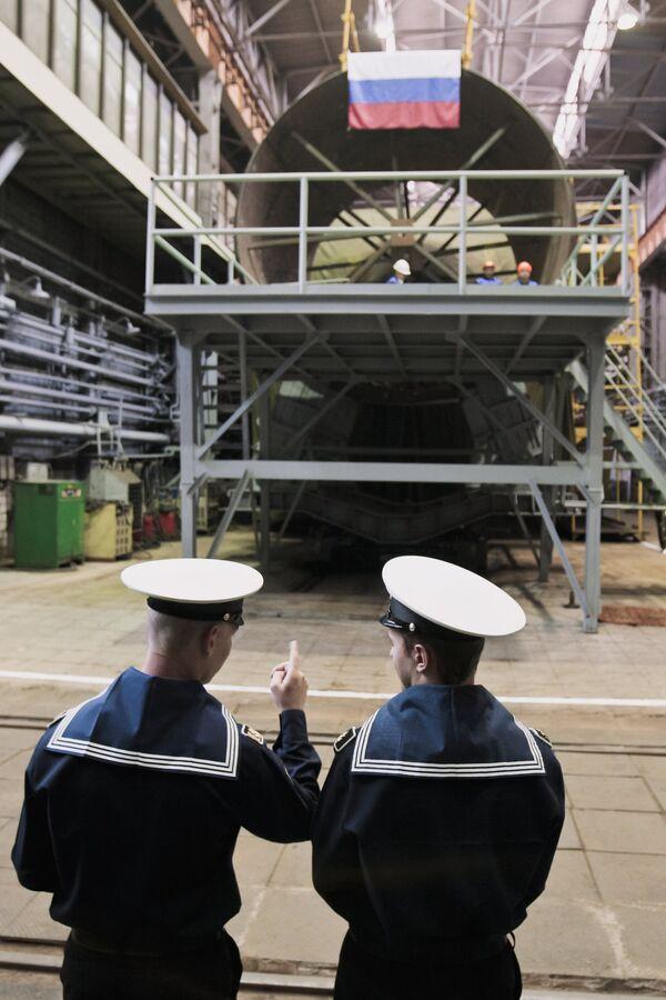 Admiralteiskie Verfi shipyard. Archive - Sputnik International