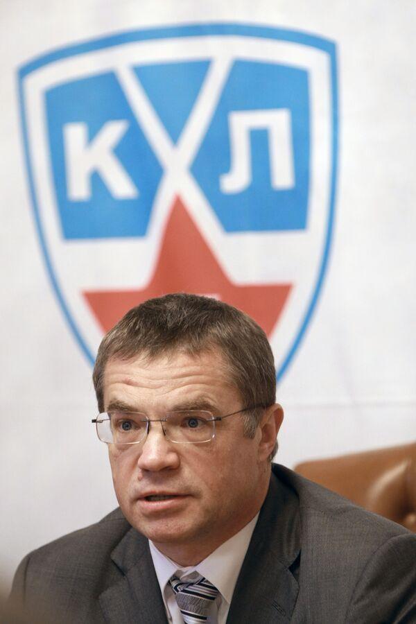 KHL president Alexander Medvedev - Sputnik International