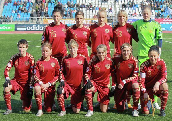 Football: Russia's Women Thrash Macedonia  - Sputnik International