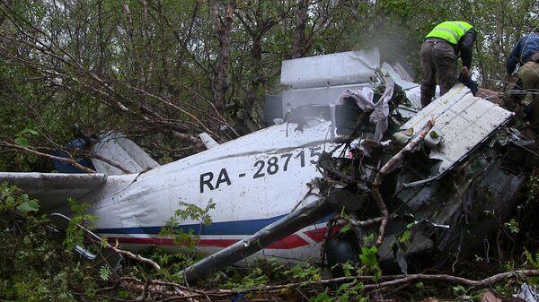 Crew Blamed for Kamchatka An-28 Crash - Sputnik International