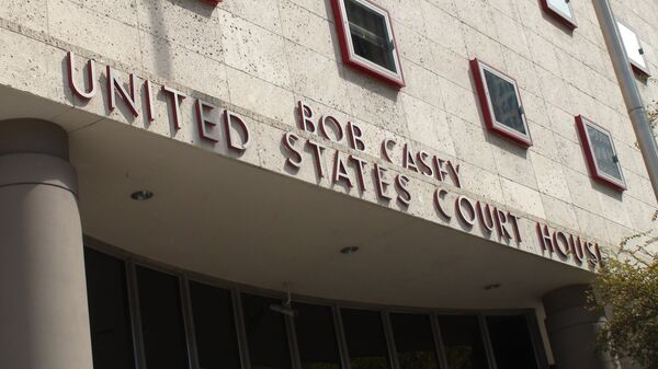 US federal court building in Houston, Texas - Sputnik International