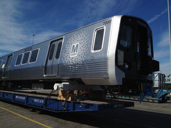 New railcars on track for Washington DC in 2014         - Sputnik International
