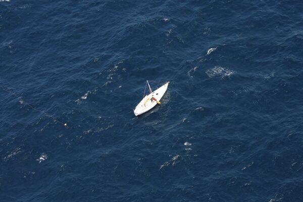 Air Canada Flight Helps Rescue Stranded Australian Sailor         - Sputnik International