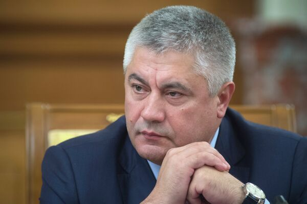 Russian Interior Minister Vladimir Kolokoltsev - Sputnik International