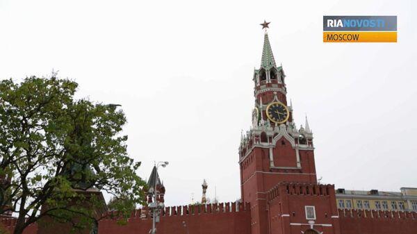 Ruby Stars Turn 75: Video Tour of Kremlin Towers  - Sputnik International