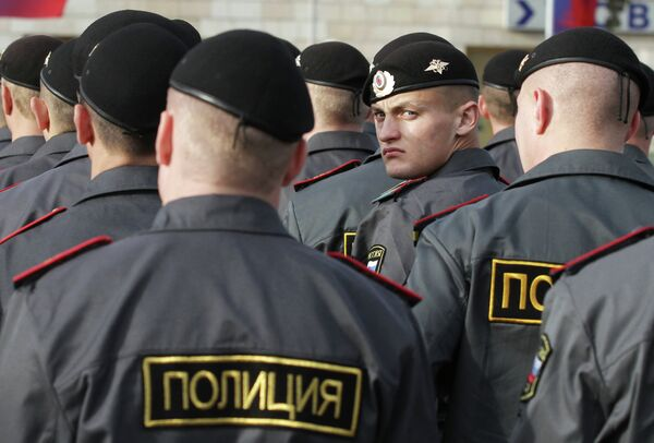 120,000 Law Enforcers to Ensure Order During Russia Elections - Sputnik International