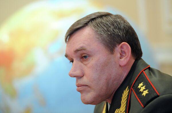 General Staff chief Col. Gen. Valery Gerasimov - Sputnik International