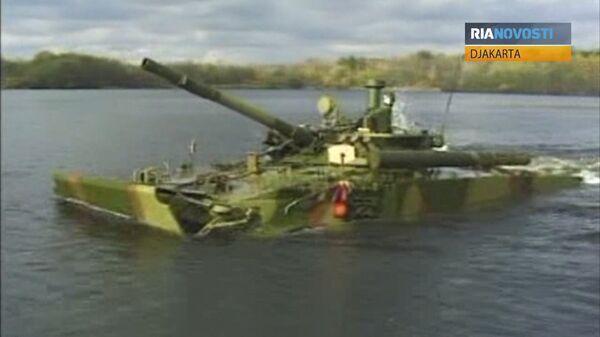 BMP-3F Infantry Vehicle Shown at Indo Defence 2012 - Sputnik International