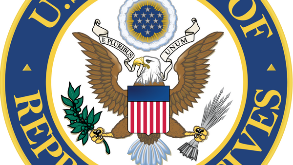 Non-official seal of the United States House of Representatives, the lower house of the United States Congress - Sputnik International