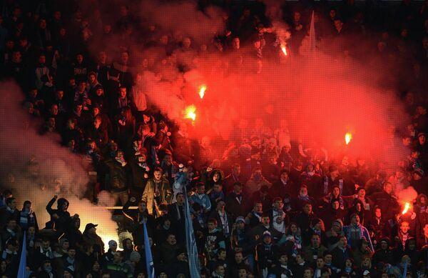 Dynamo-Zenit Match  - Sputnik International