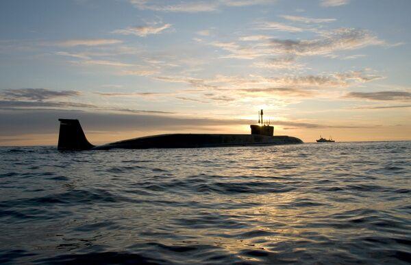 Yury Dolgoruky, a Project 955 Borey-class submarine - Sputnik International