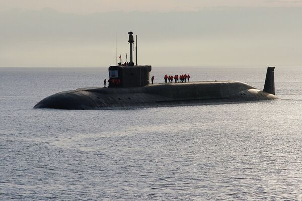 The Borey-class submarine Yury Dolgoruky - Sputnik International