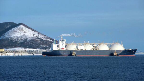 LNG Tanker (Archive) - Sputnik International