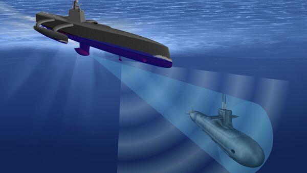 The drone submarine - Sputnik International
