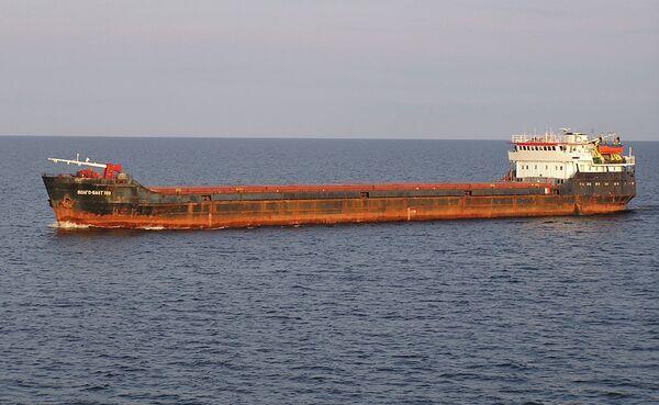 The Volgo Balt 199 vessel - Sputnik International