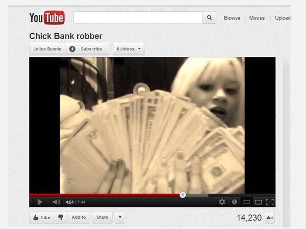 Teen Arrested After Bragging About Bank Robbery on YouTube        - Sputnik International