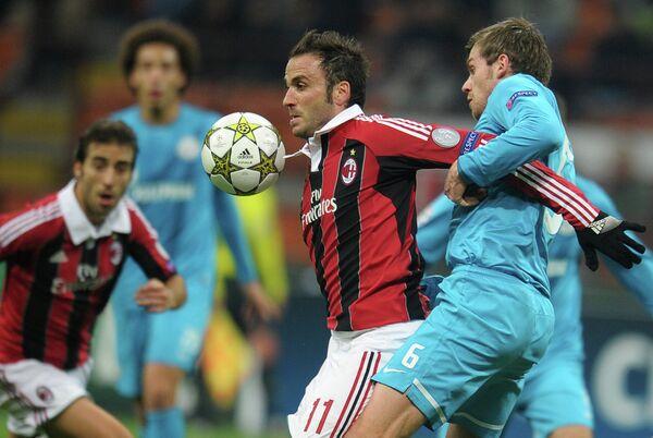 Zenit Beat 2nd-String Milan for Europa League - Sputnik International