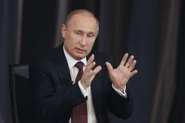 Putin: 'No Reason Not to Sign' US Adoption Ban  - Sputnik International