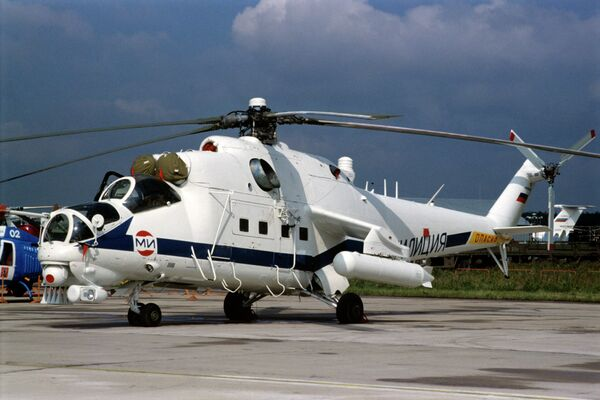 Mi-35 helicopter - Sputnik International
