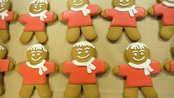 Gingerbread men - Sputnik International