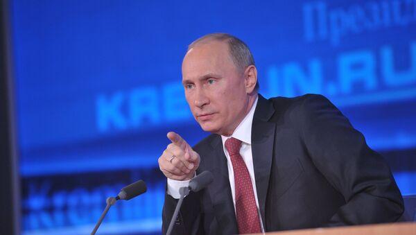 Putin Defends Record: 'No Major Mistakes'  - Sputnik International