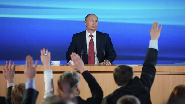 Media Important for N. Caucasus Development: Putin - Sputnik International
