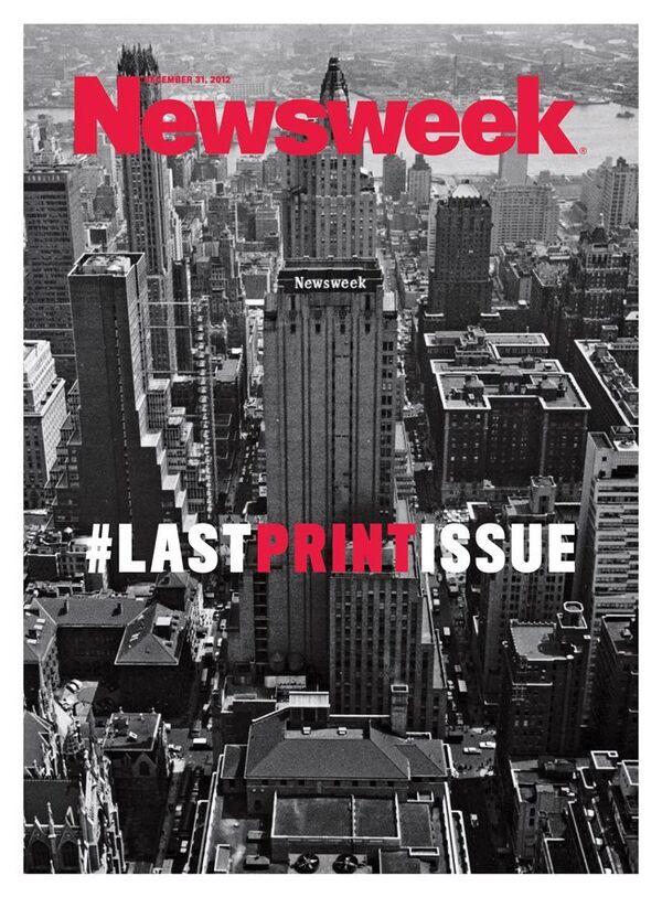 Newsweek Publishes Last Print Issue - Sputnik International