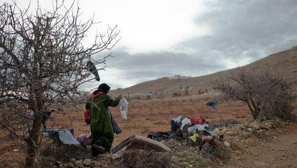 Syrian refugees - Sputnik International