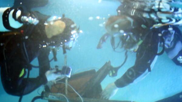 Emergencies Ministry Divers Practice Simulated Rescue Missions  - Sputnik International