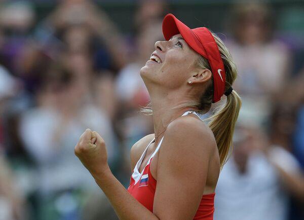 Russian tennis superstar Maria Sharapova - Sputnik International