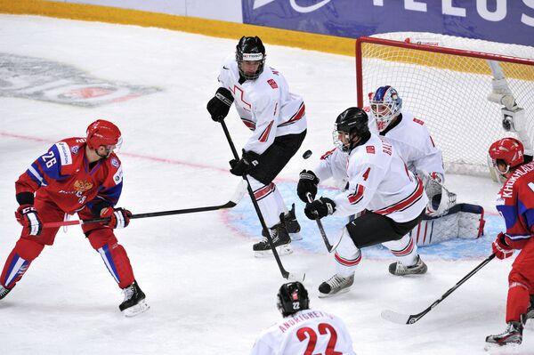 Russia Edges Past Switzerland into Semis - Sputnik International