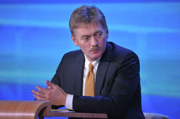 The Kremlin spokesman Dmitry Peskov says that Moscow regrets EU decision to impose new sanctions against Russia over Ukraine and views them as illegitimate. - Sputnik International