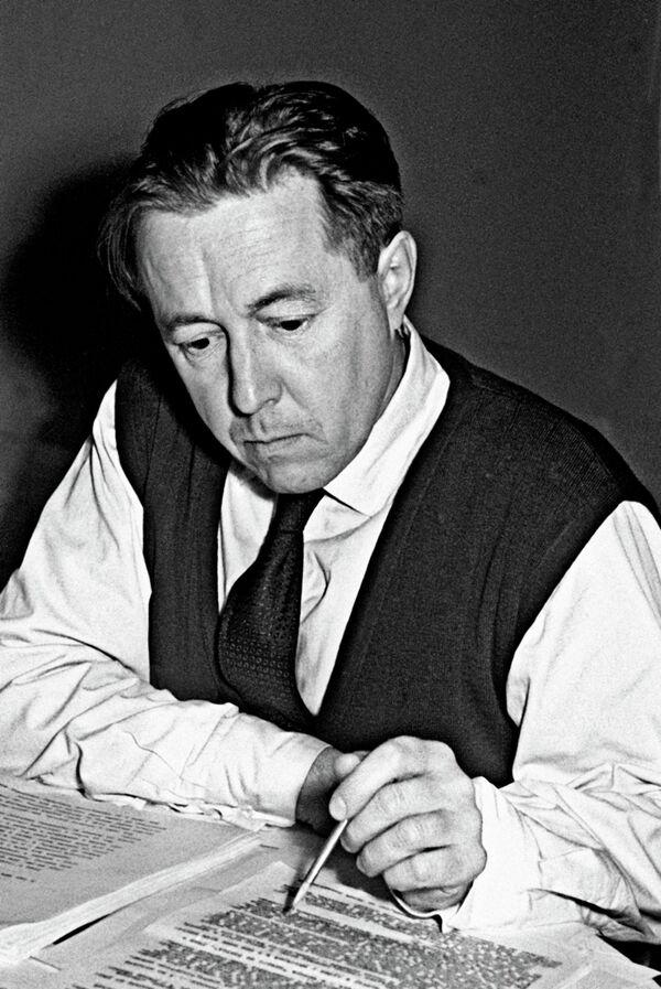 Alexander Solzhenitsyn (archive) - Sputnik International
