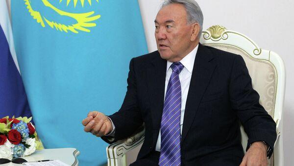 President of Kazakhstan Nursultan Nazarbayev - Sputnik International